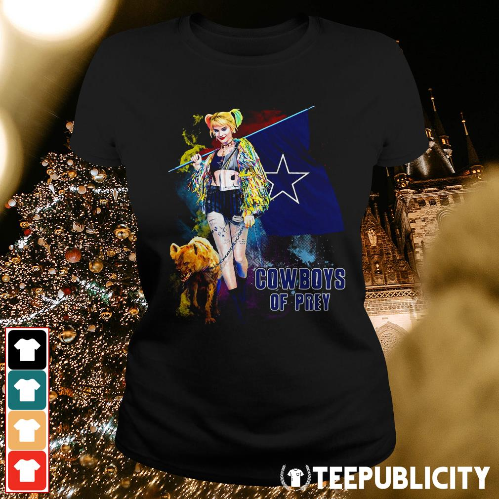 Harley Quinn Dallas Cowboy of Prey Ladies Tee