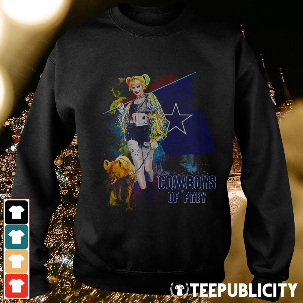 Harley Quinn Dallas Cowboy of Prey Sweater