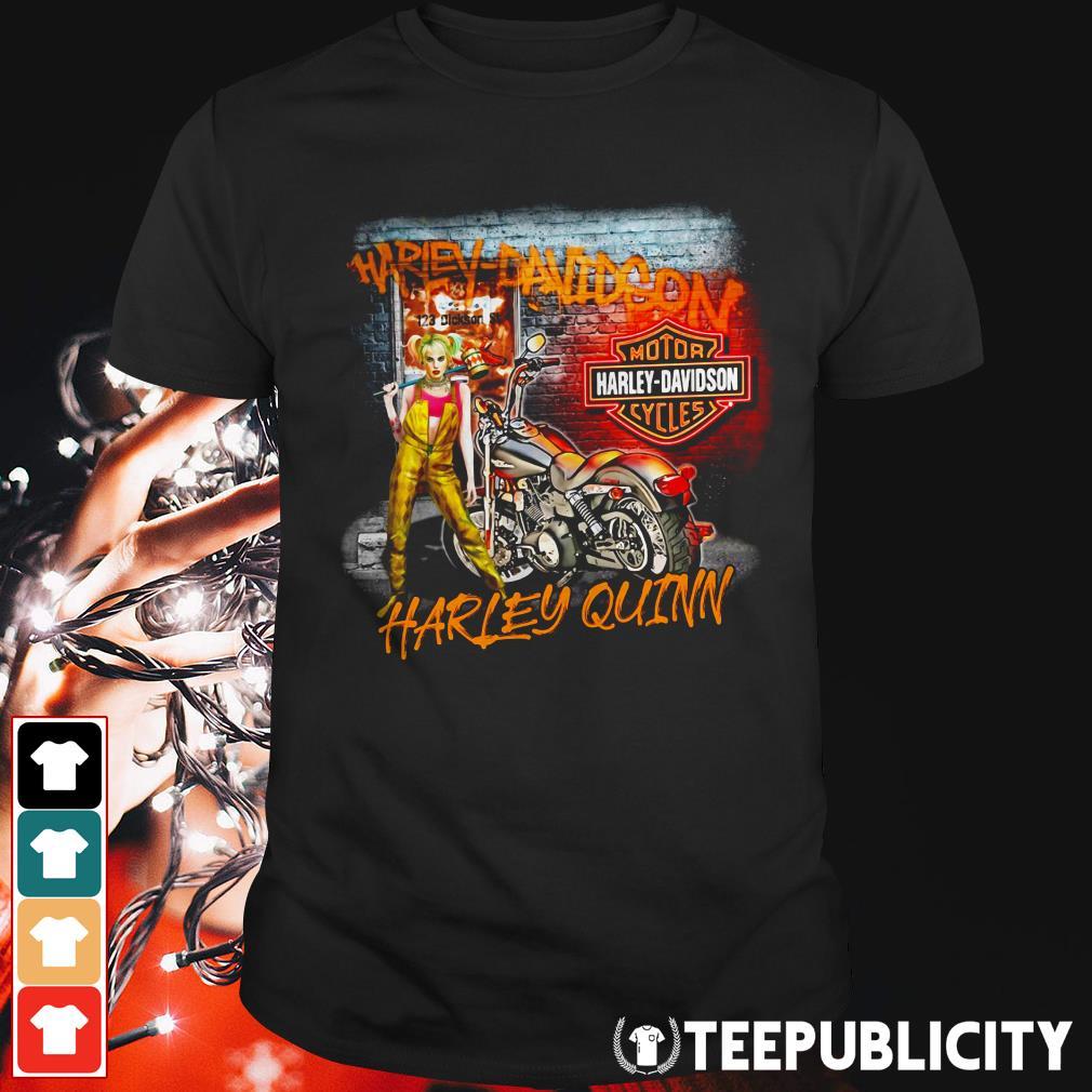 Harley Quinn Harley Davidson motorcycles shirt