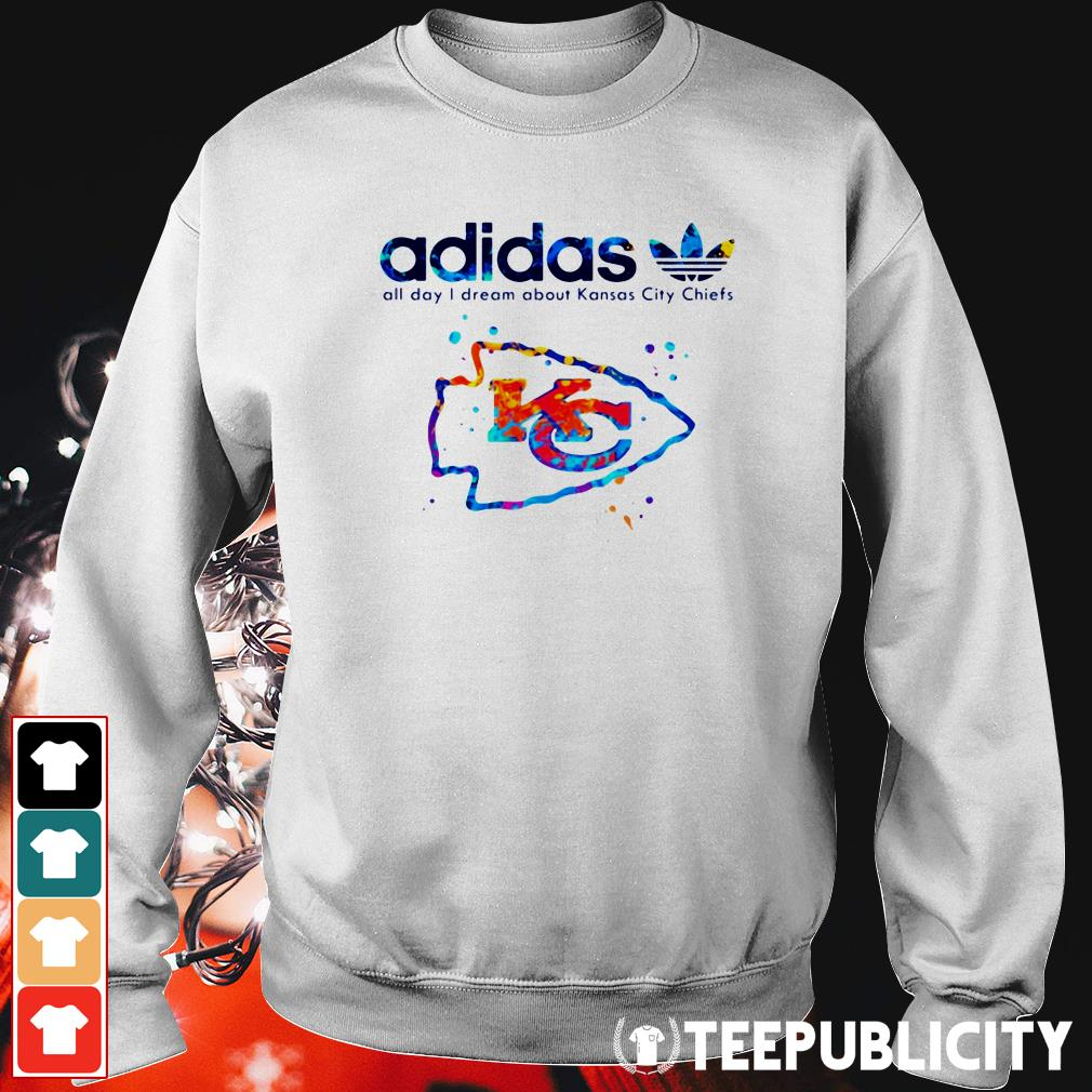 Official Adidas all day I dream about Kansas City Chiefs Sweater