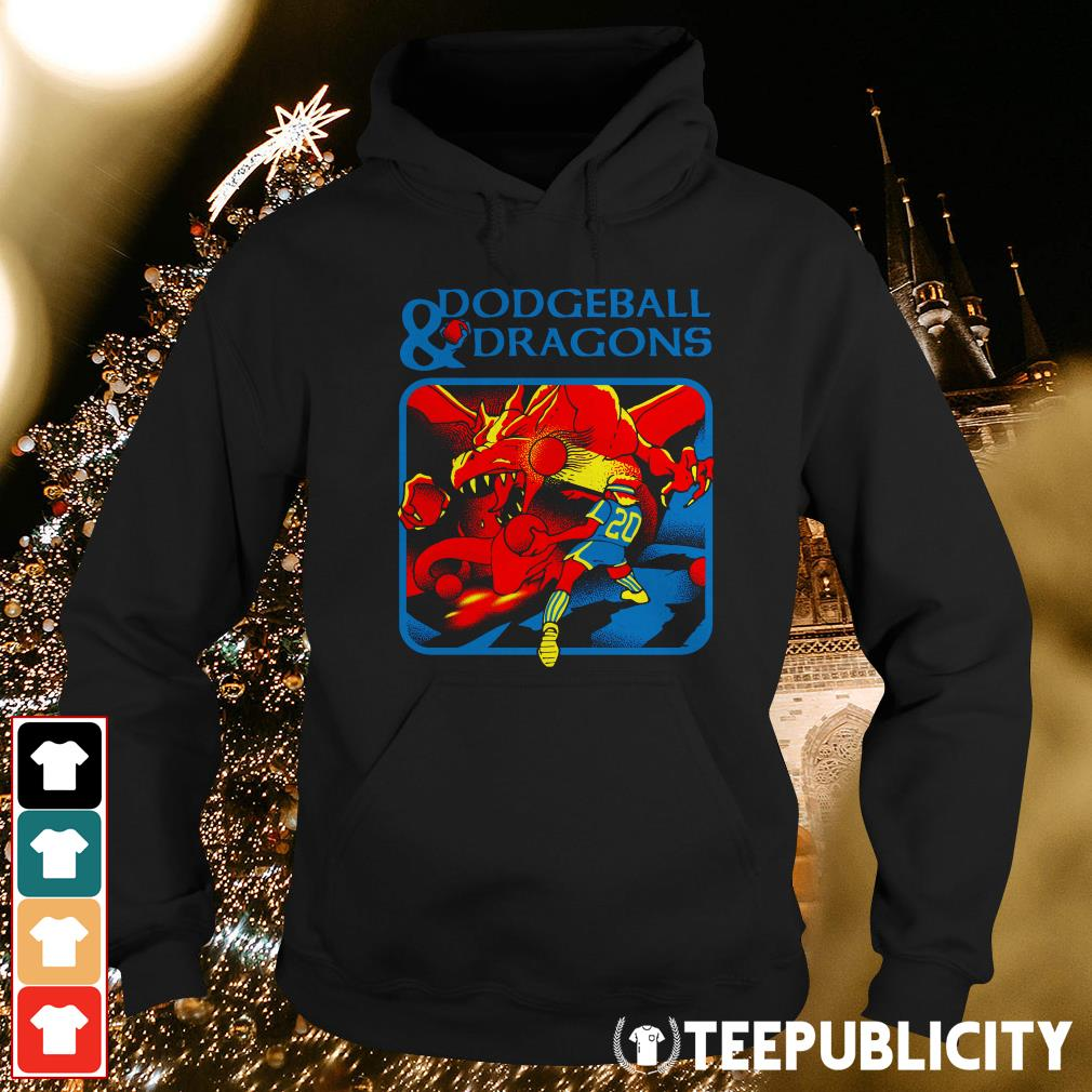 Official Dodgeball and dragons Hoodie