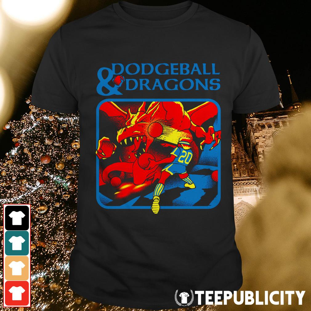 Official Dodgeball and dragons shirt