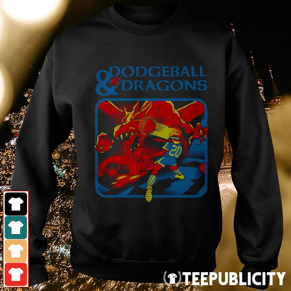 Official Dodgeball and dragons Sweater