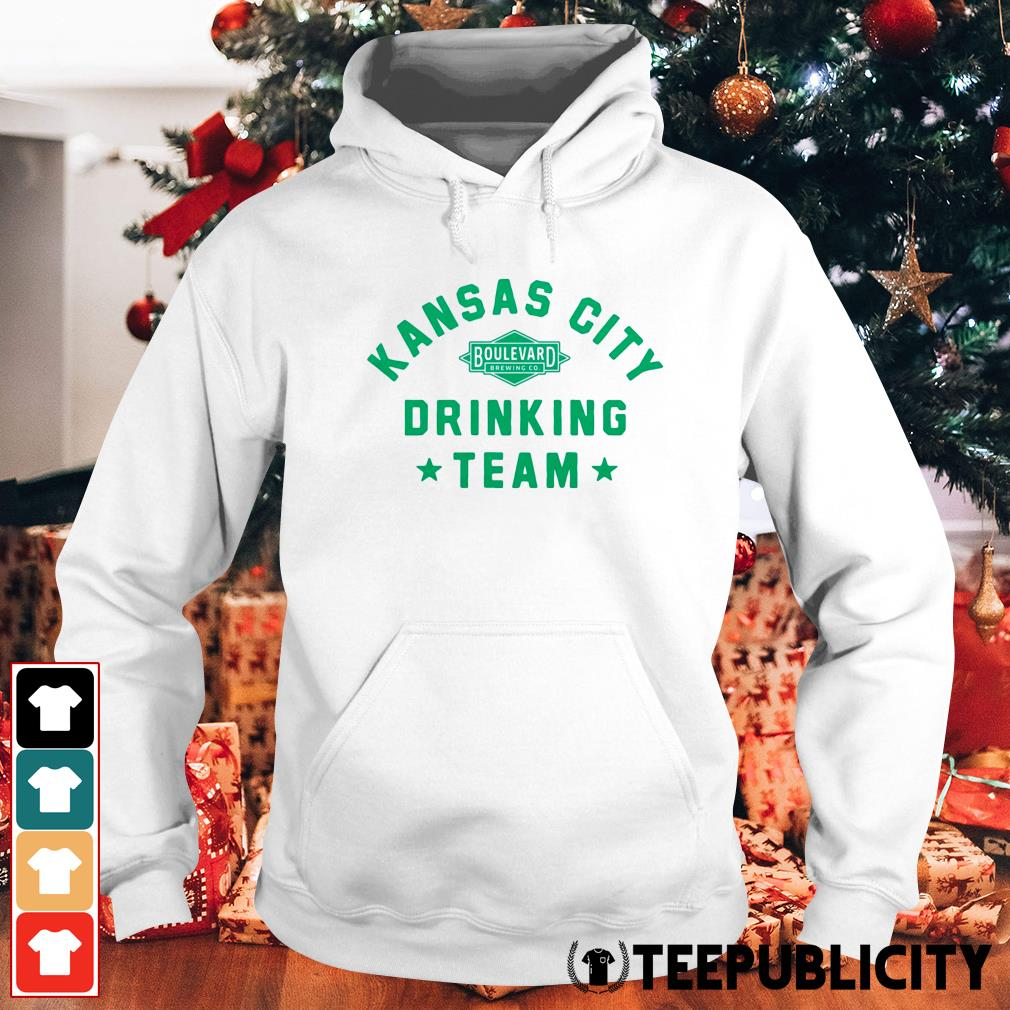 Official Kansas City drinking team Hoodie