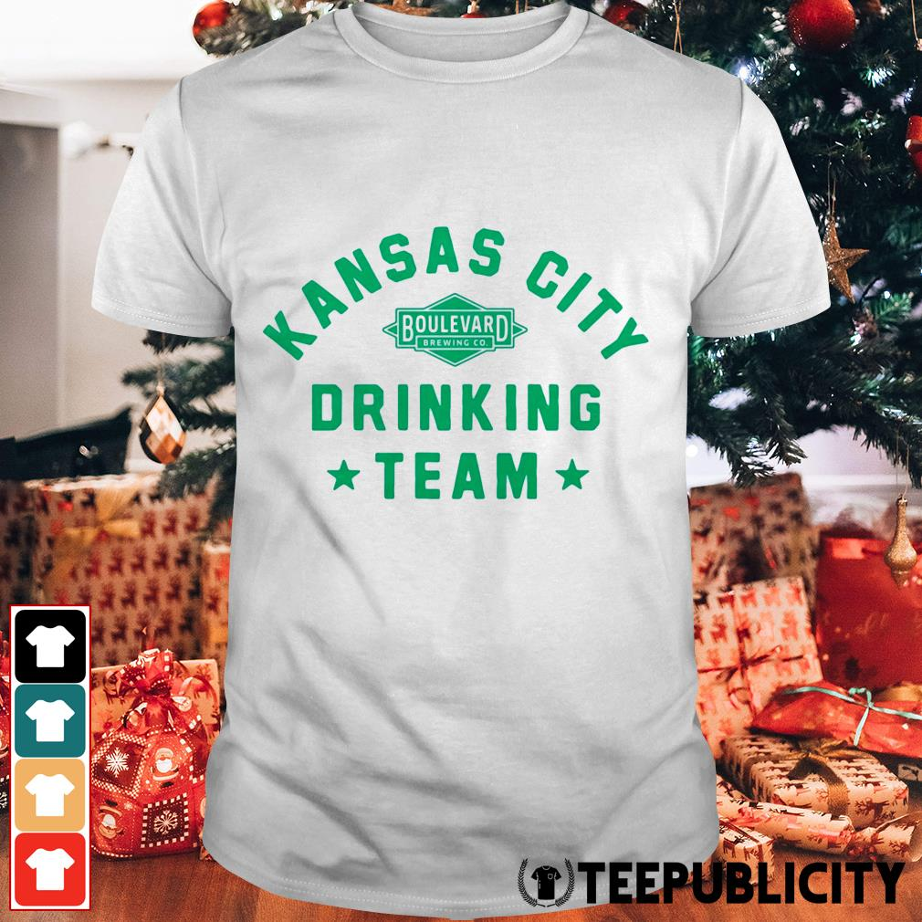 Official Kansas City drinking team shirt
