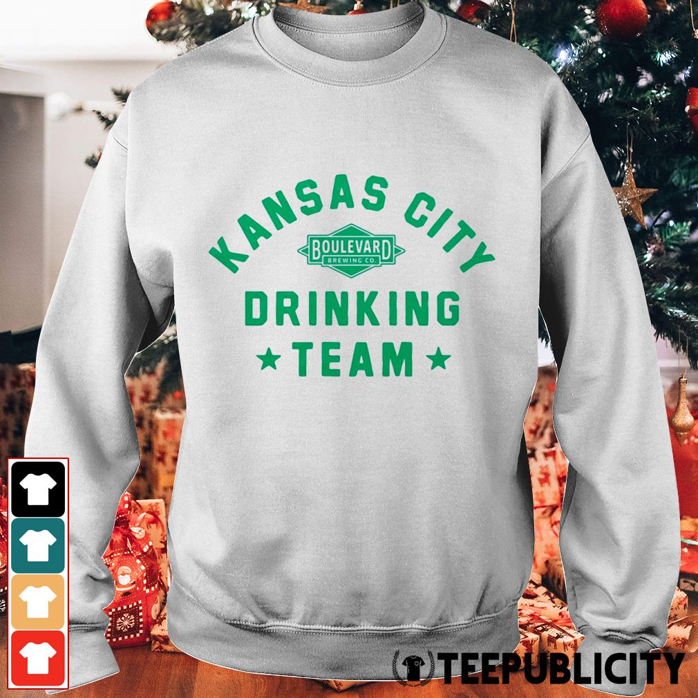 Official Kansas City drinking team Sweater
