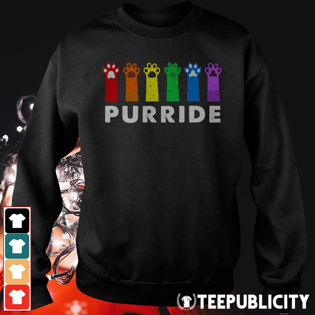 Official Paws Cat Purride Sweater