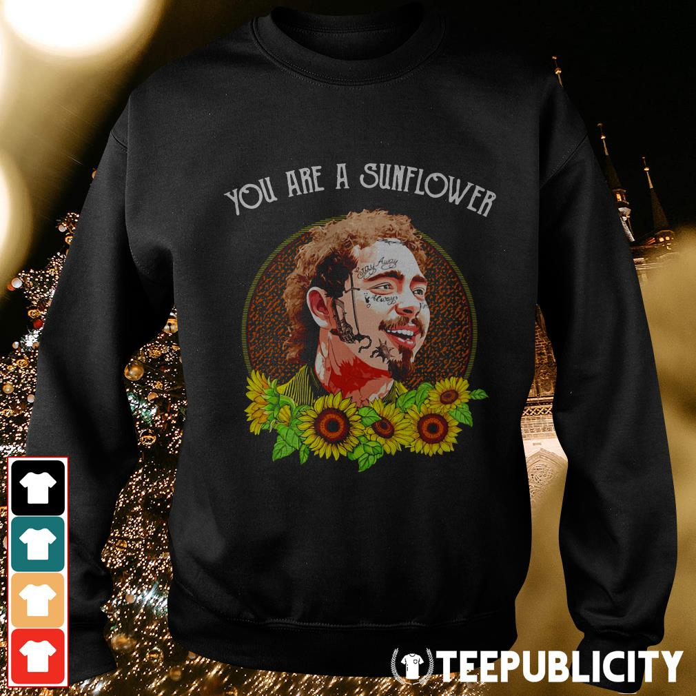 Official Post Malone you are a sunflower Sweater