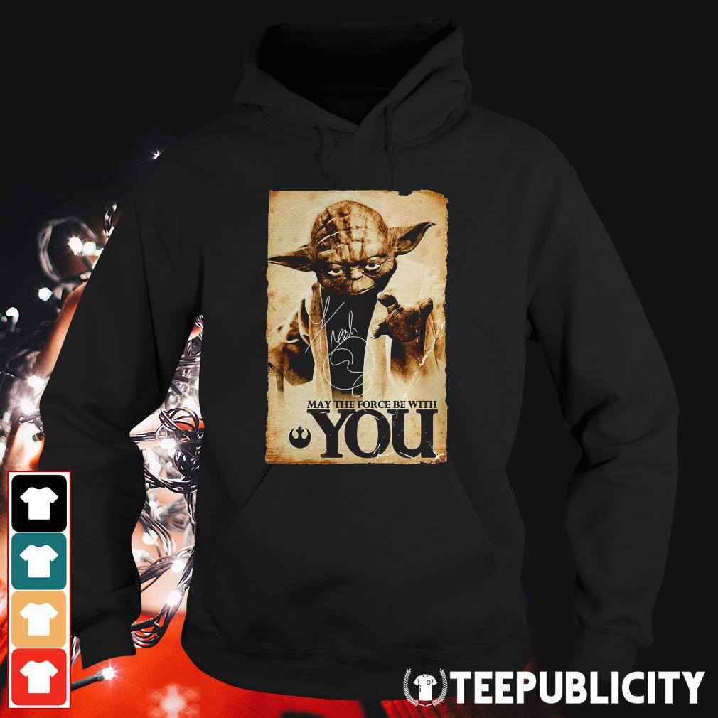 Official Star Wars Yoda May the force be with you Hoodie