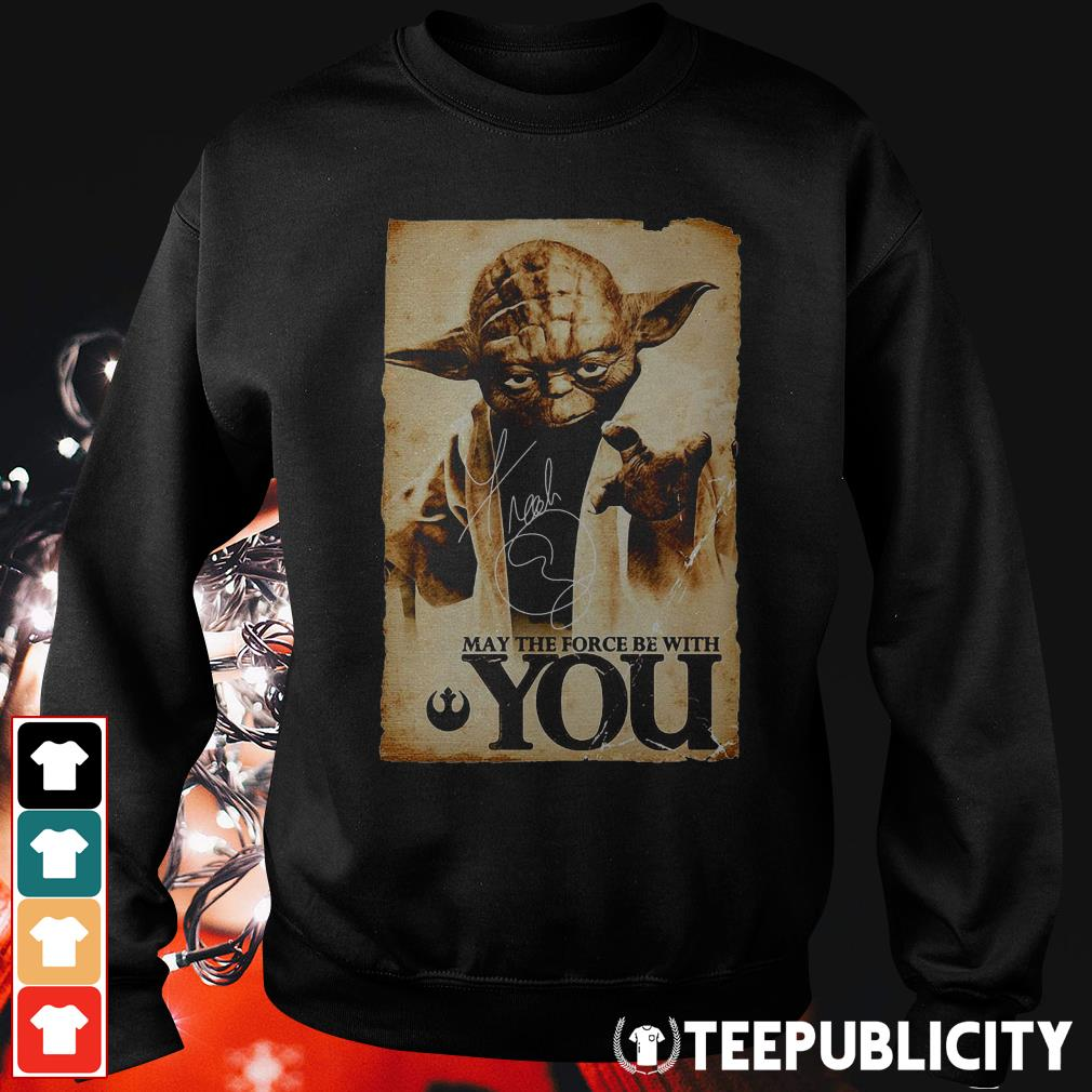 Official Star Wars Yoda May the force be with you Sweater