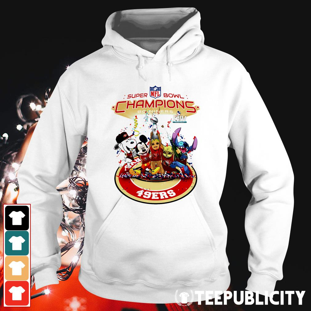 Official Super Bowl NFL champions go niners San Francisco 49ers Hoodie