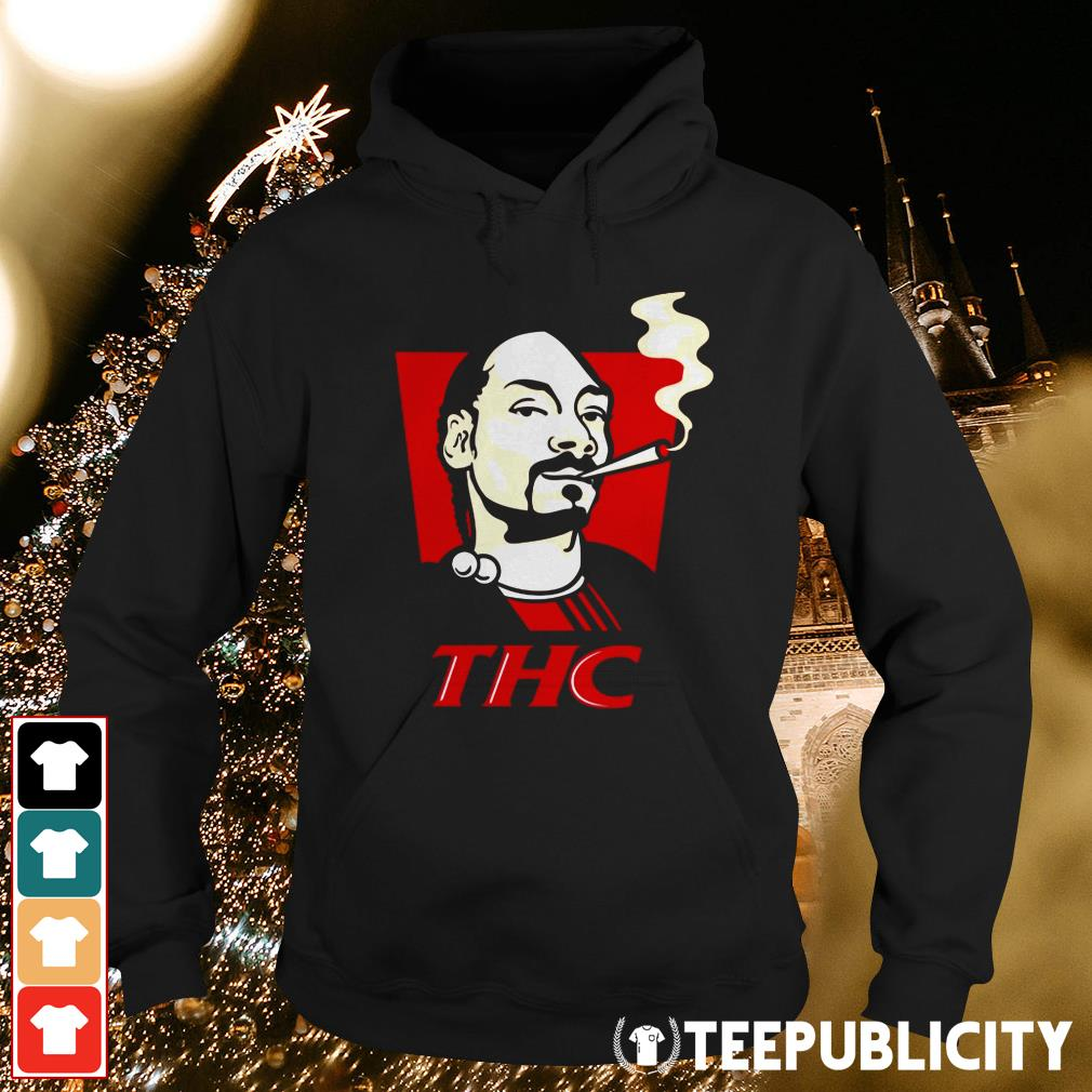 Snoop Dog smokes THC Hoodie
