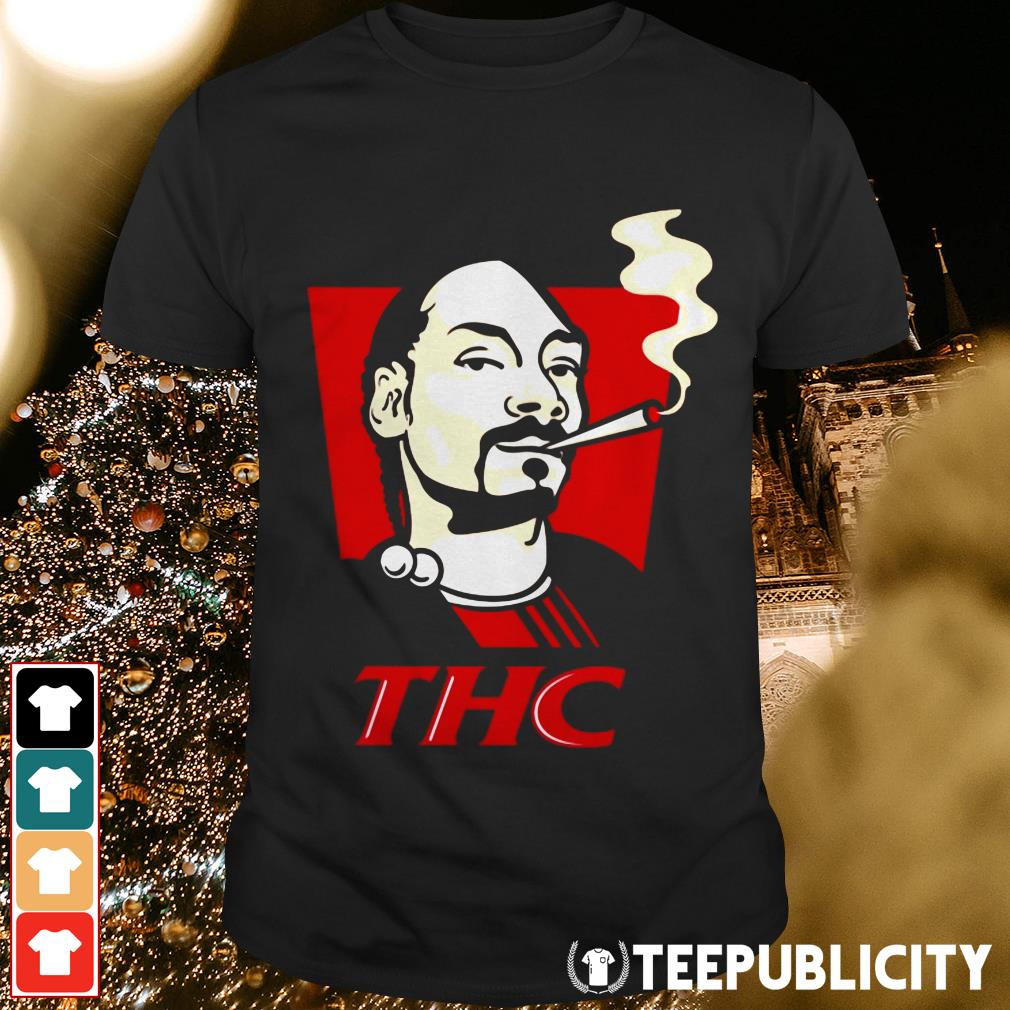 Snoop Dog smokes THC shirt