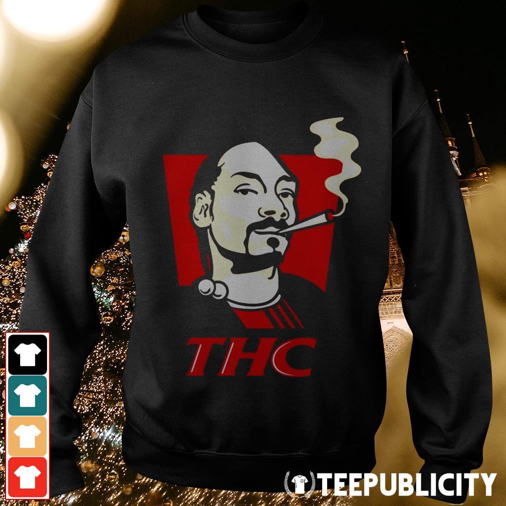 Snoop Dog smokes THC Sweater