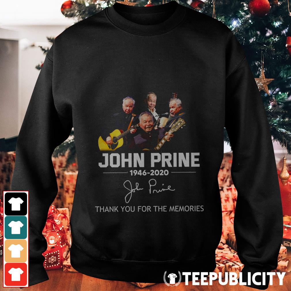 John Prine 1946-2020 thank you for the memories Sweater