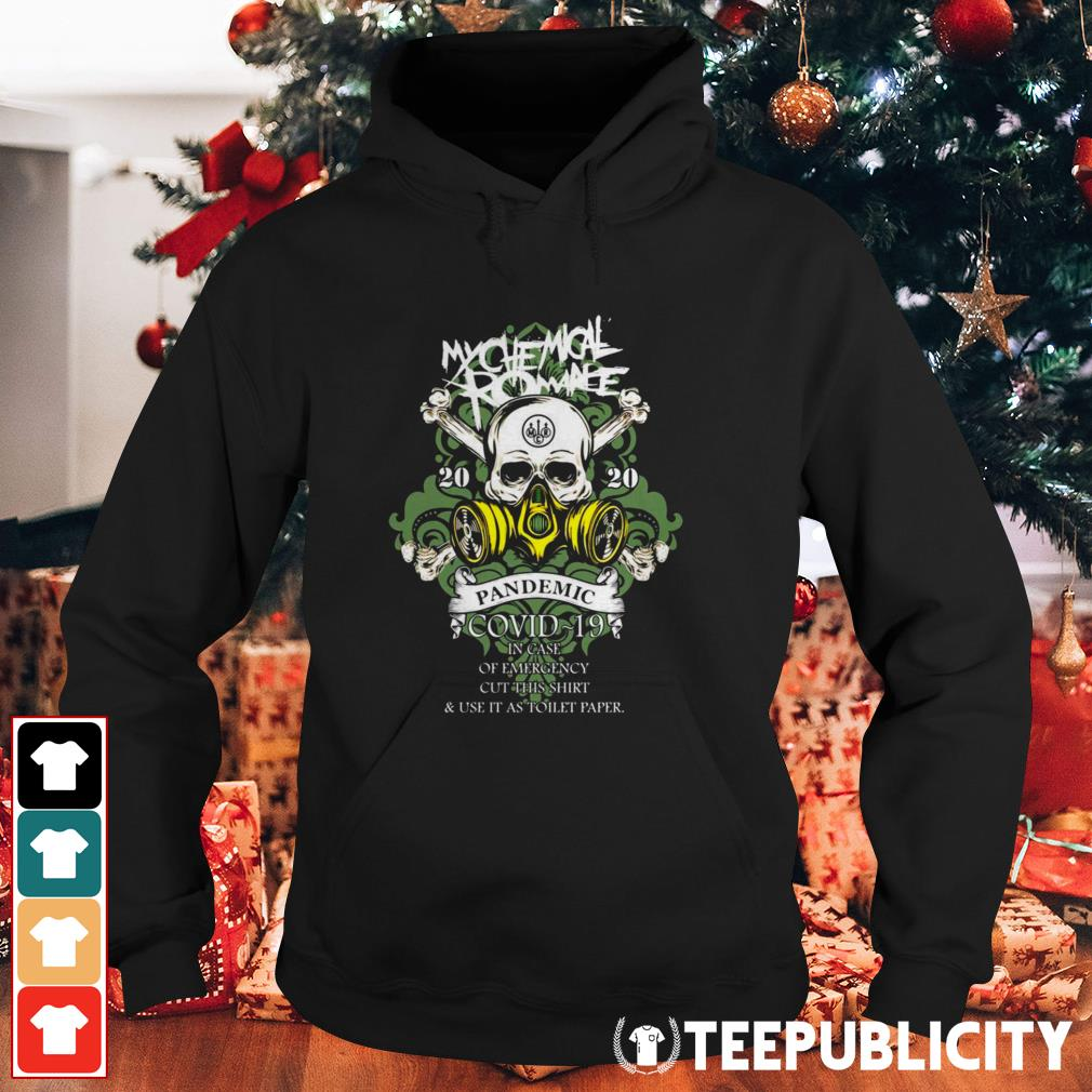 My Chemical Romance 2020 pandemic in case of emergency Hoodie
