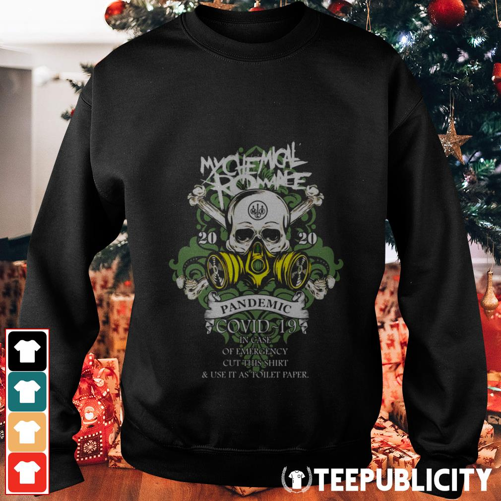 My Chemical Romance 2020 pandemic in case of emergency Sweater