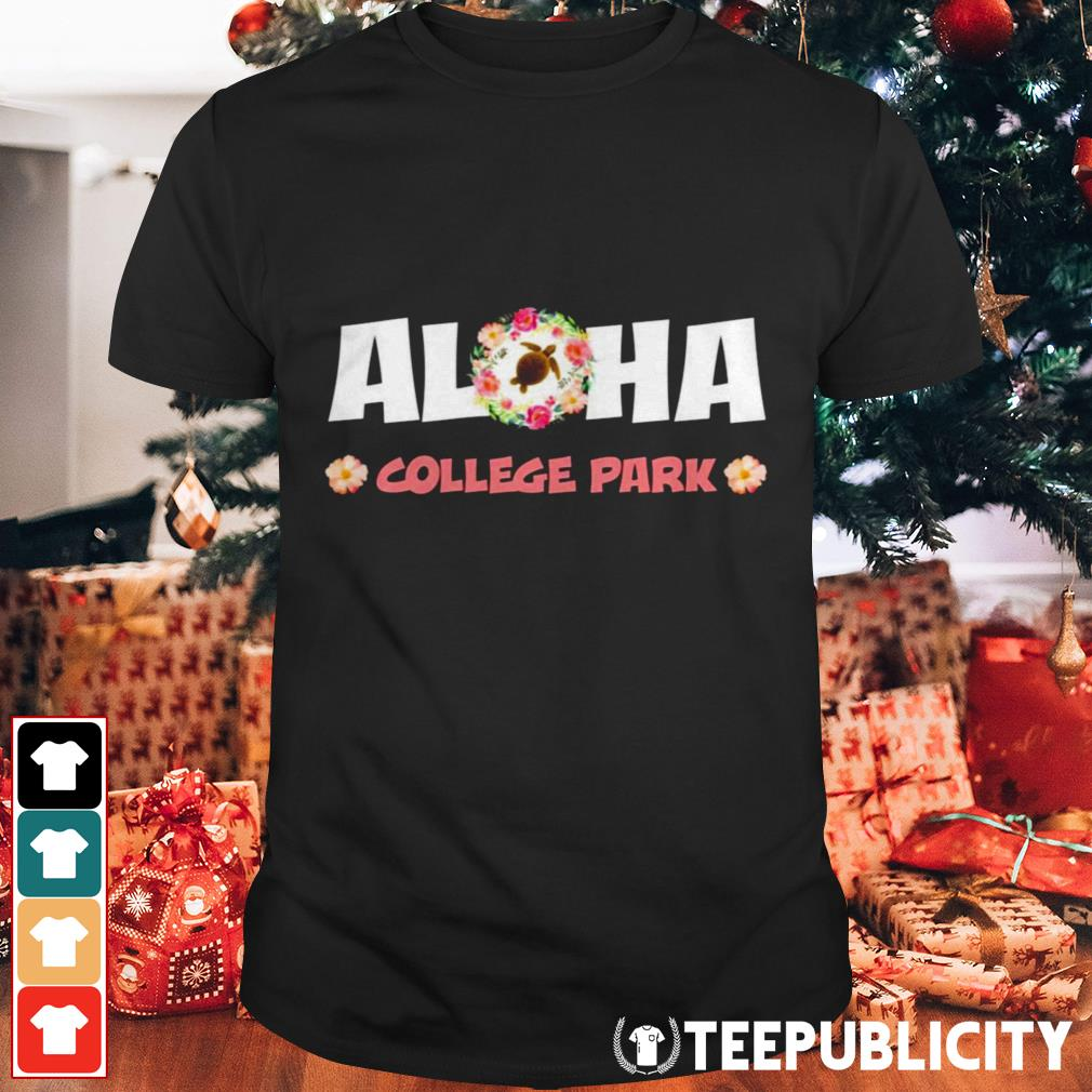 Aloha college park shirt