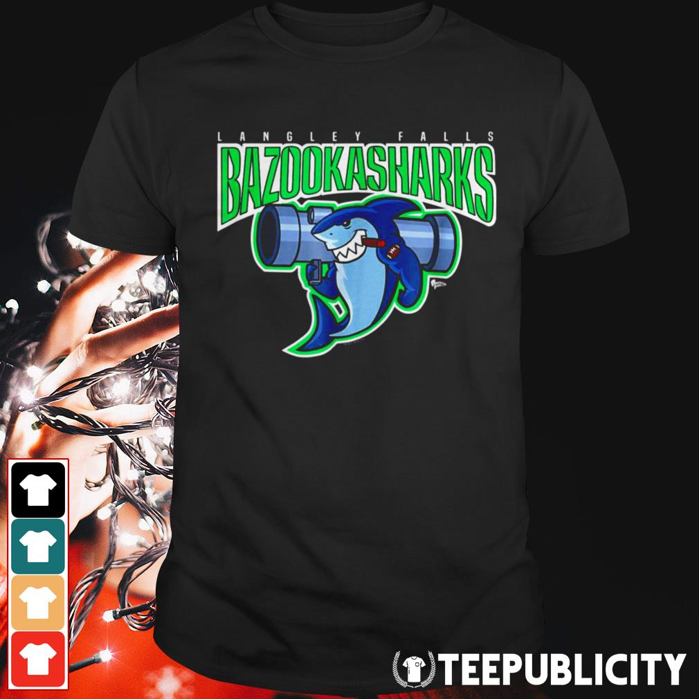 American Dad Bazooka Sharks shirt
