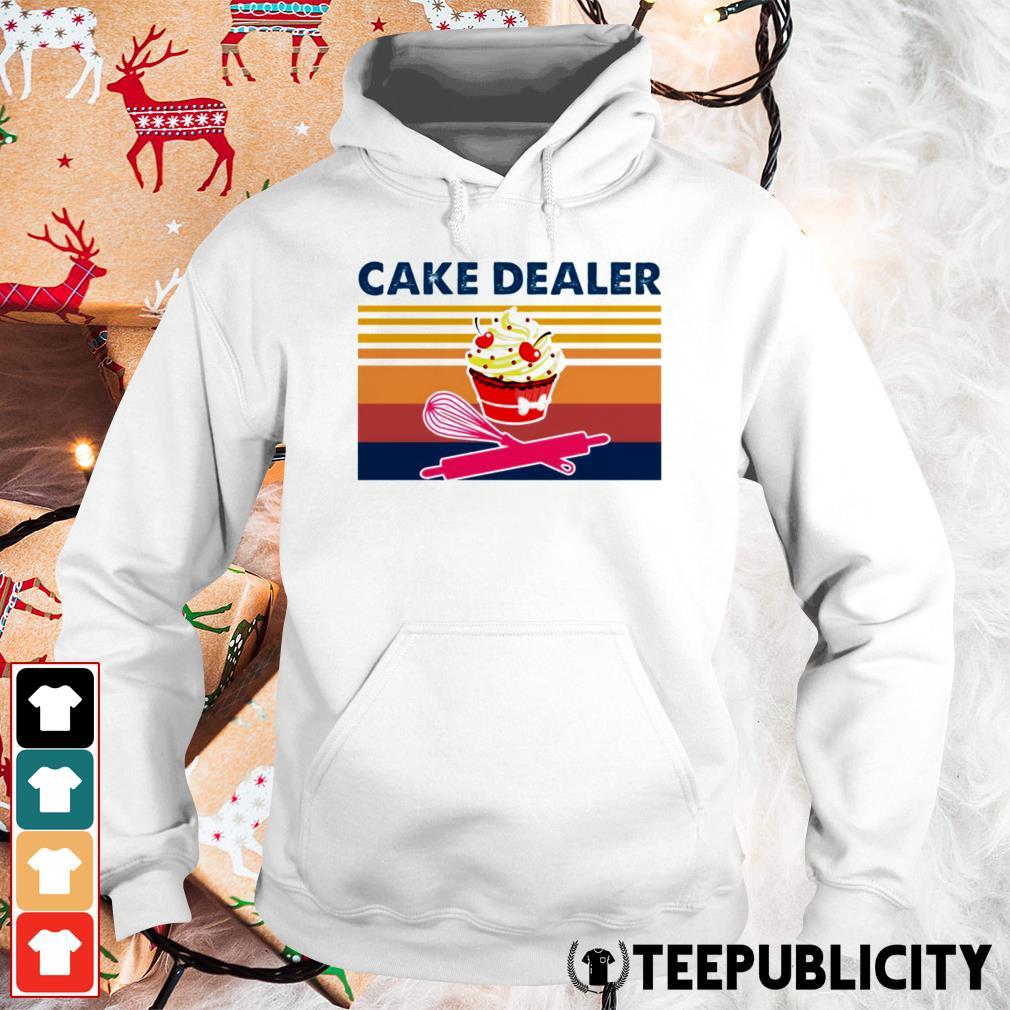 Cake dealer vintage Hoodie