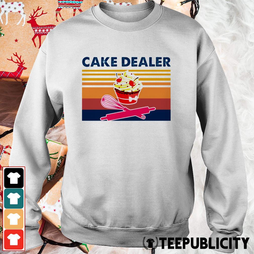 Cake dealer vintage Sweater