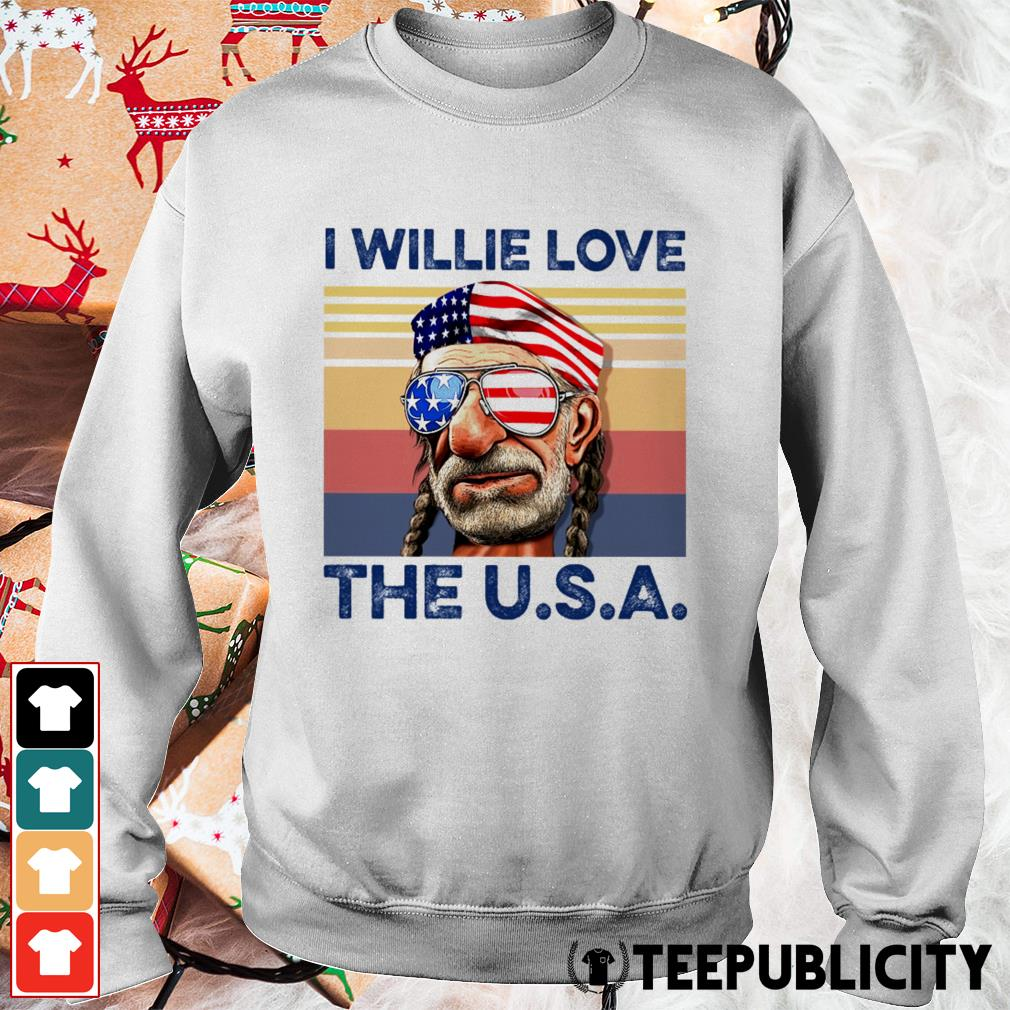 I Willie love the USA vintage Sweater