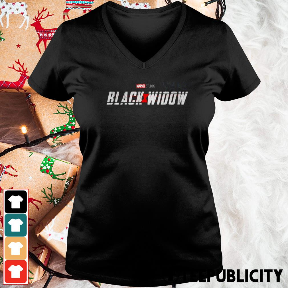Marvel confirms Black Widow movie for May 2020 V-neck T-shirt