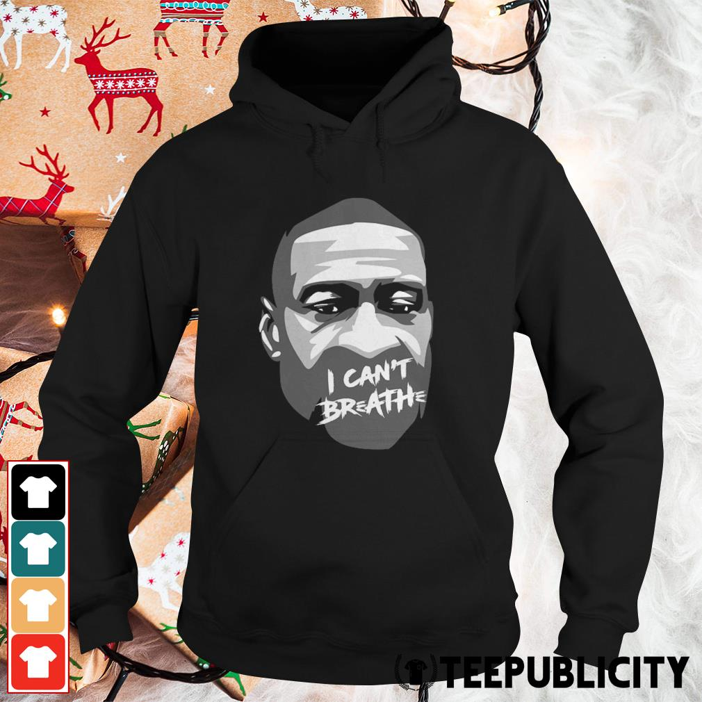 Official George Floyd I can't breathe Hoodie