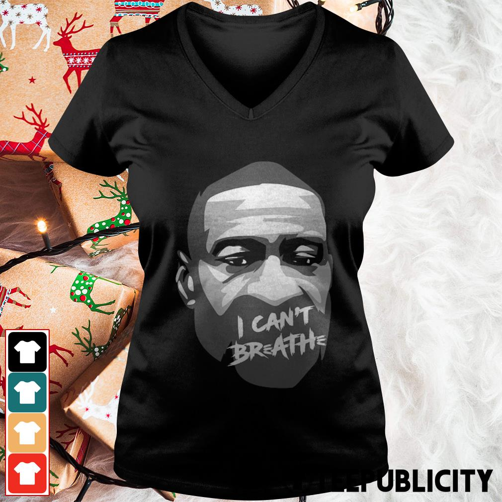 Official George Floyd I can't breathe V-neck T-shirt