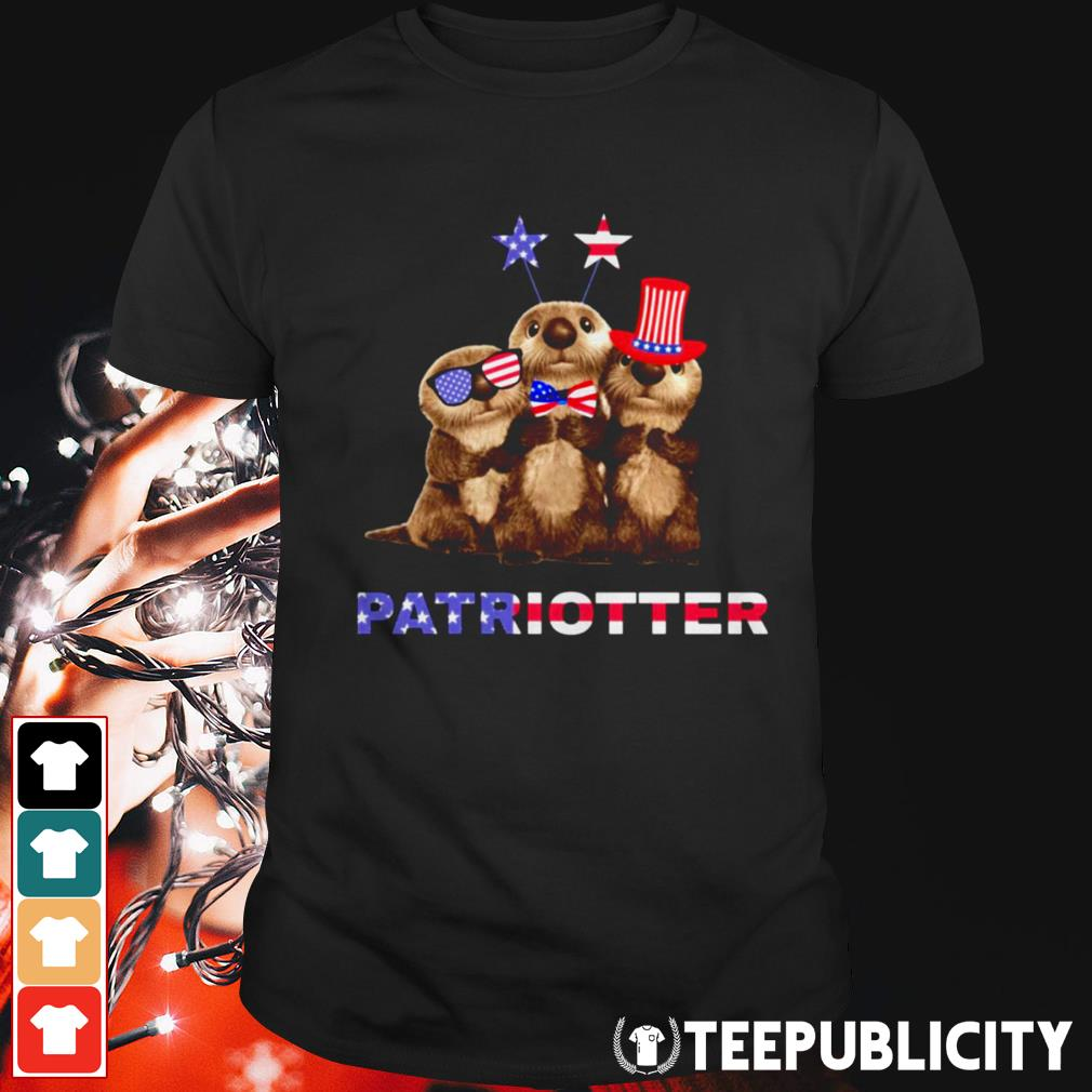 Otter Patriotter 4th of July shirt