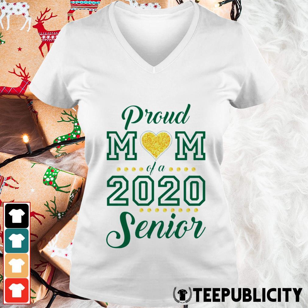 Proud Mom of 2020 Senior V-neck T-shirt