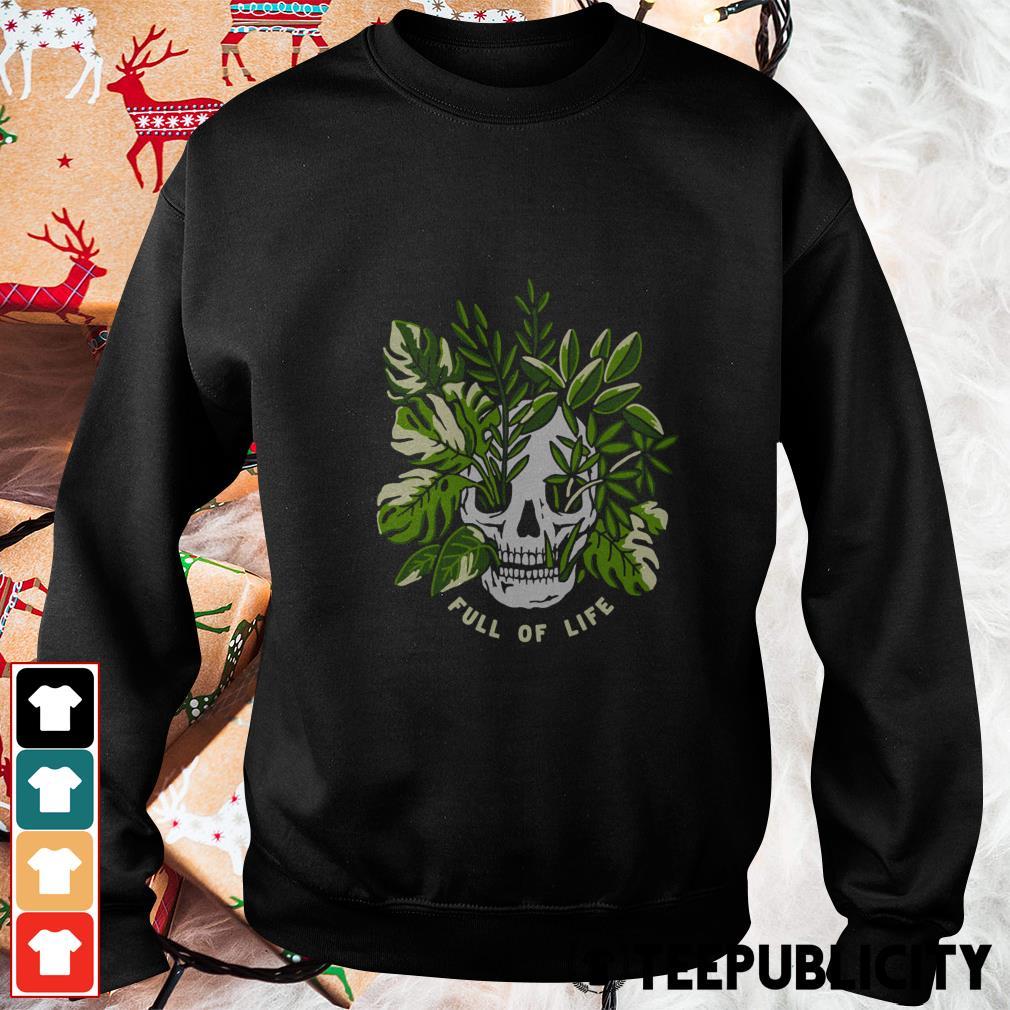 Skull full of life Sweater