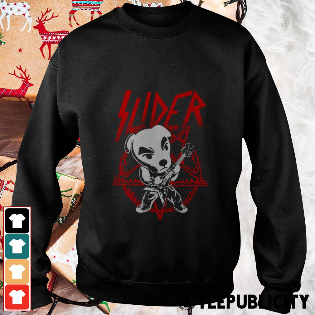Slider King Metal designs by draculabyte Sweater