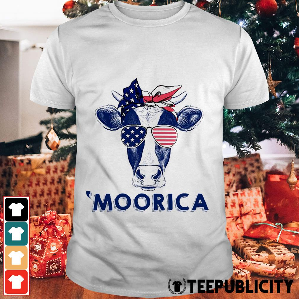 4th of July Cow 'Moorica shirt
