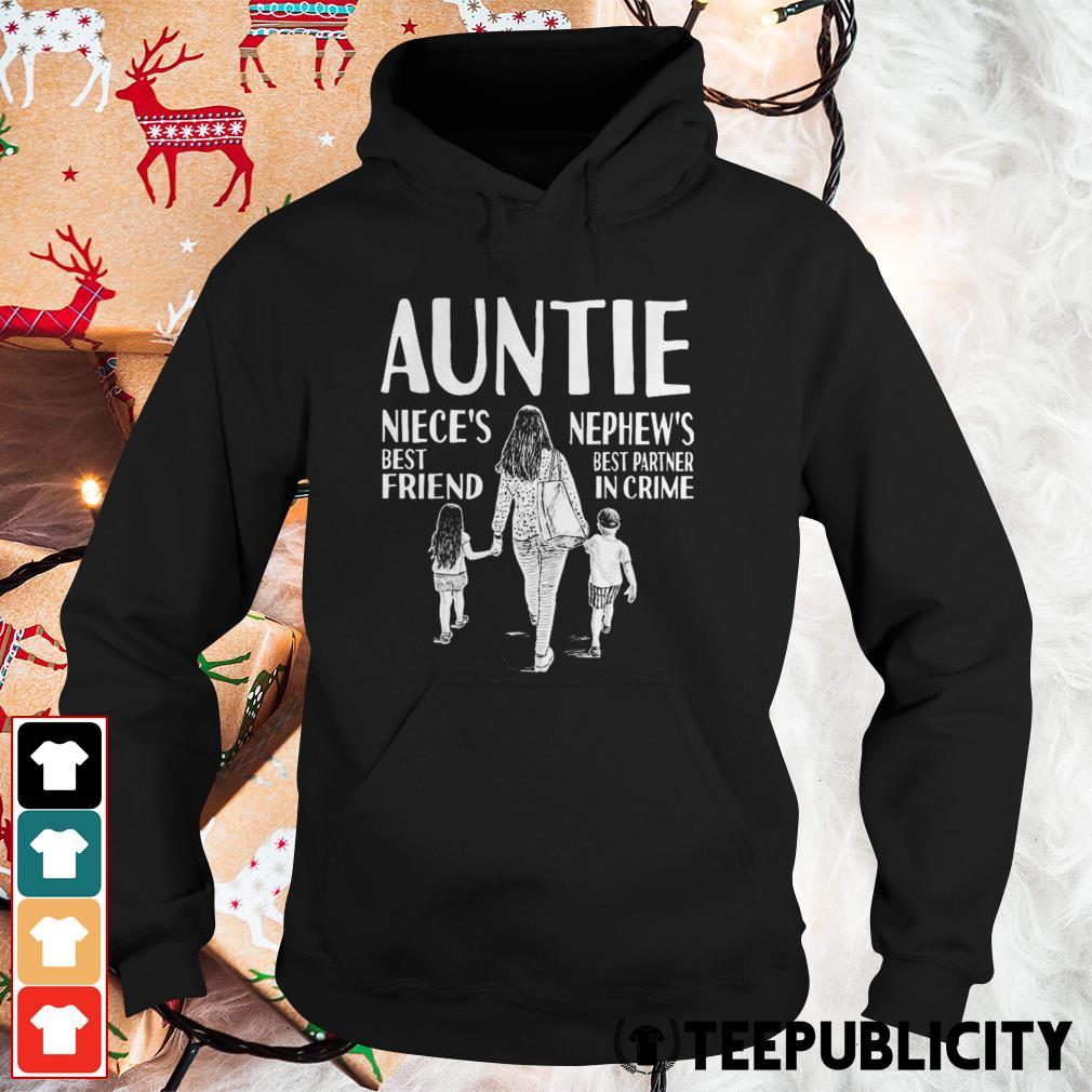 Autine niece's best friend nephew's best partner in crime Hoodie