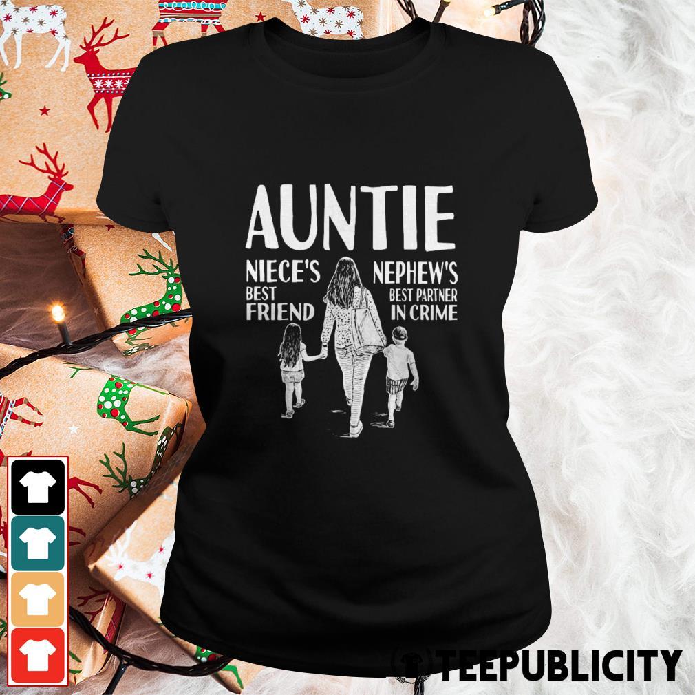 Autine niece's best friend nephew's best partner in crime Ladies Tee
