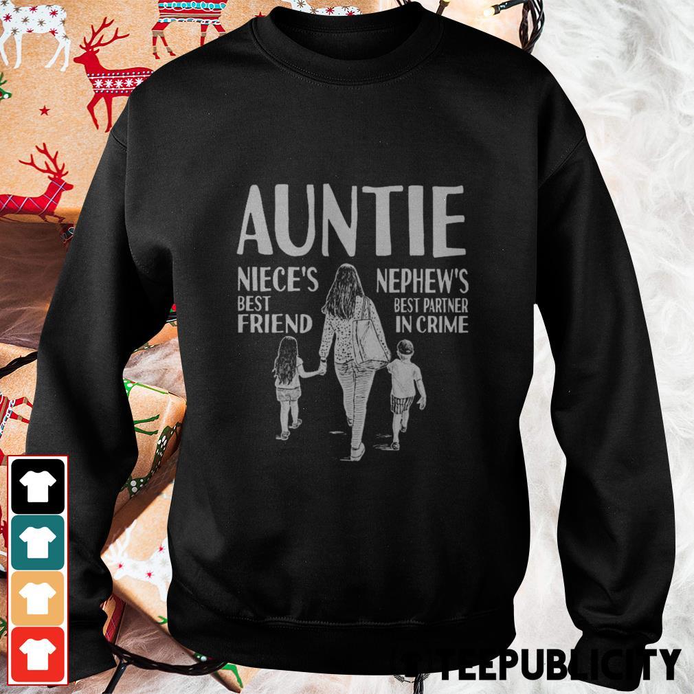 Autine niece's best friend nephew's best partner in crime Sweater