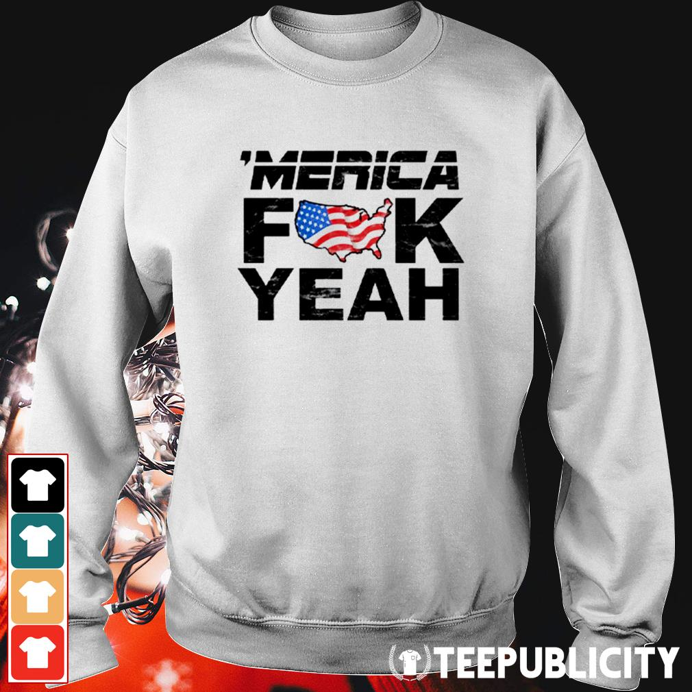 'Merica fuck yeah Sweater