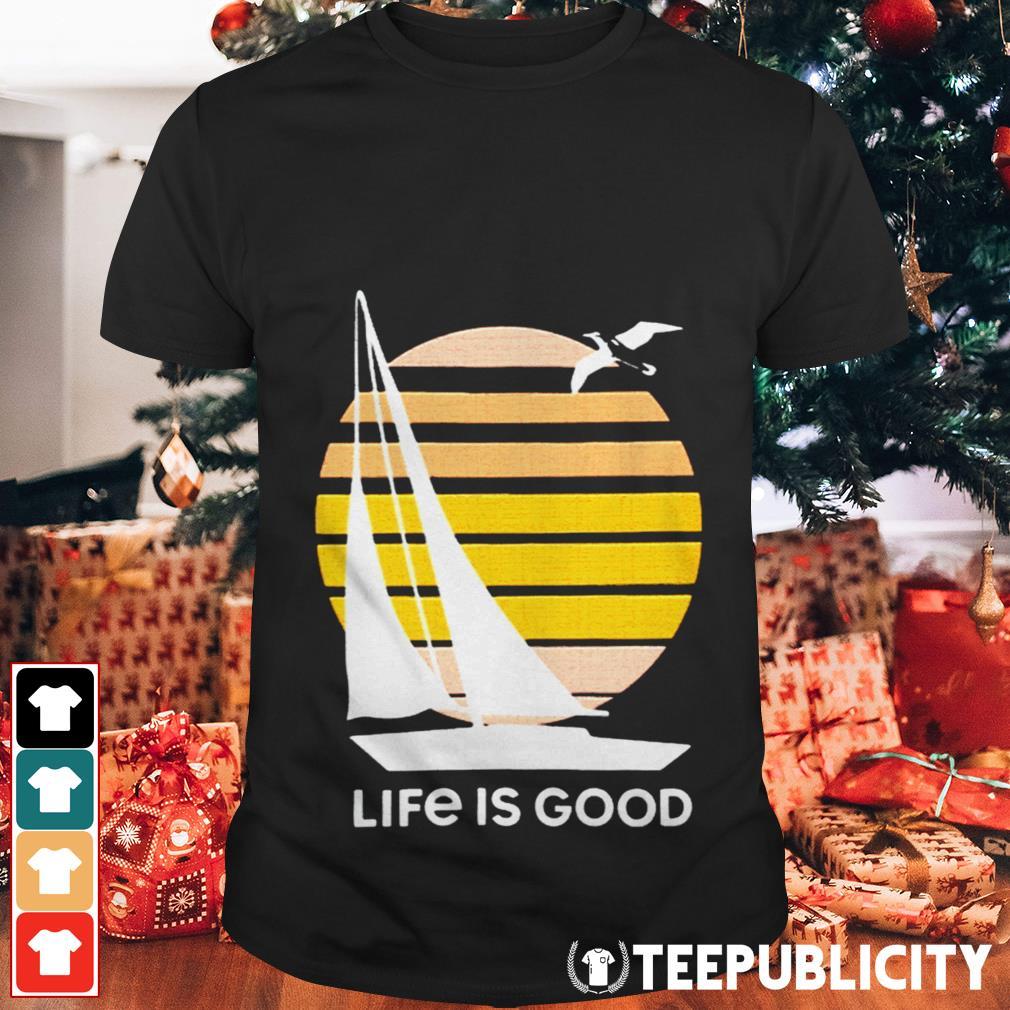 Seas The Day Textured Slub Life Is Good shirt