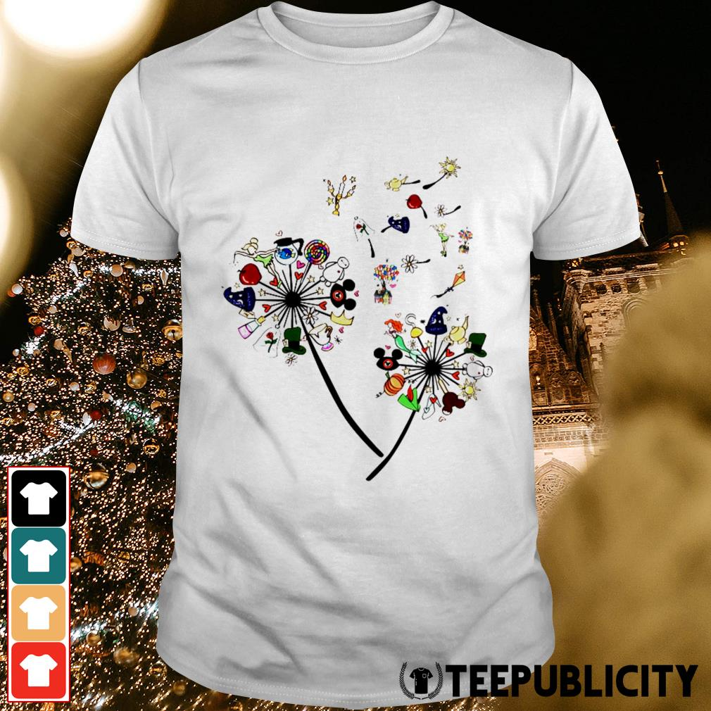 Disney dandelion cartoon shirt