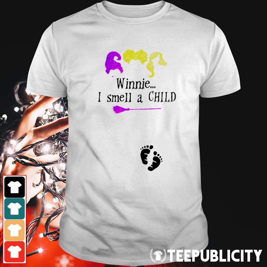 Hocus Pocus winnie I smell a child shirt