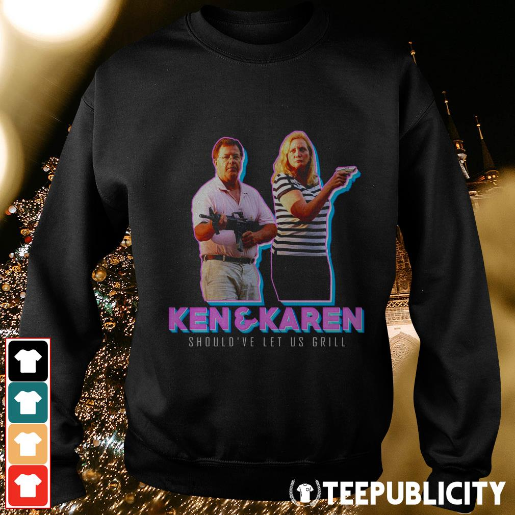 ST Louis couple Ken and Karen should've let us grill Sweater