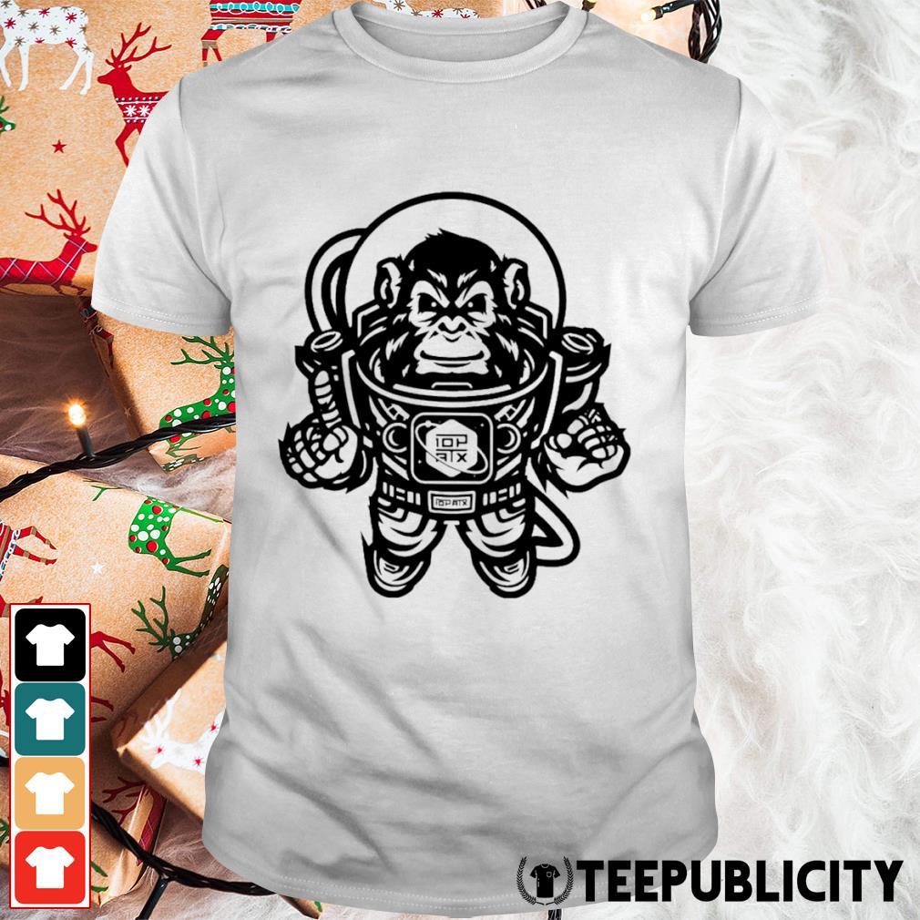 10th Planet Austin Space Ape Jiu Jitsu shirt