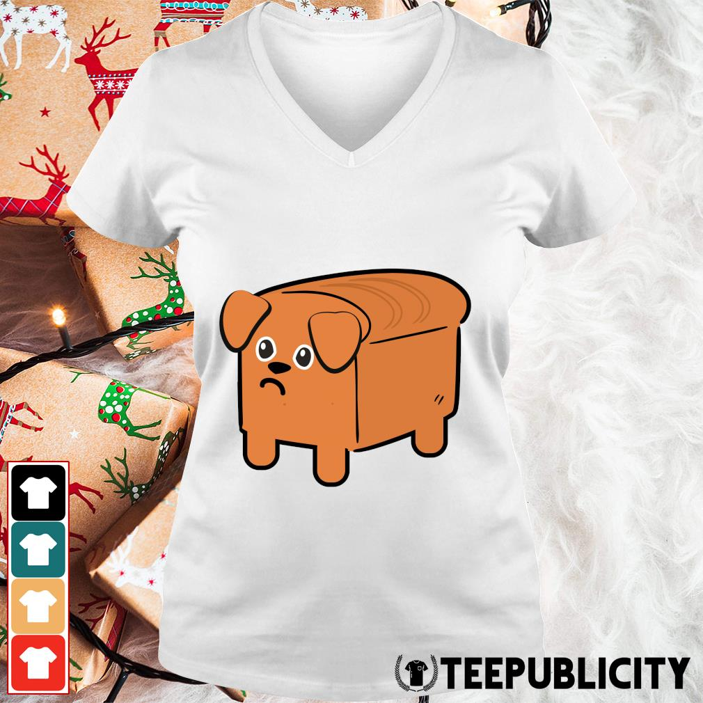 Dog sandwich s v-neck-t-shirt