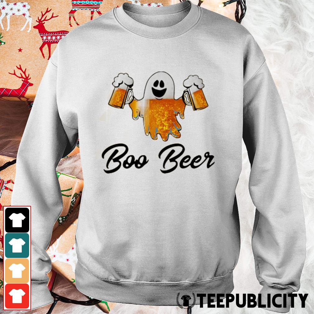 Ghost boo beer s sweater