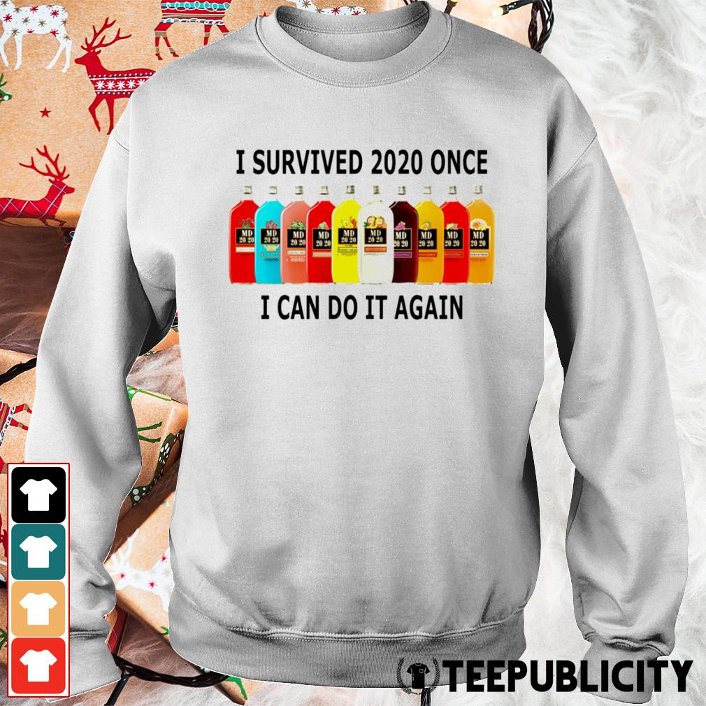 I survived 2020 once I can do it again MD 2020 s sweater