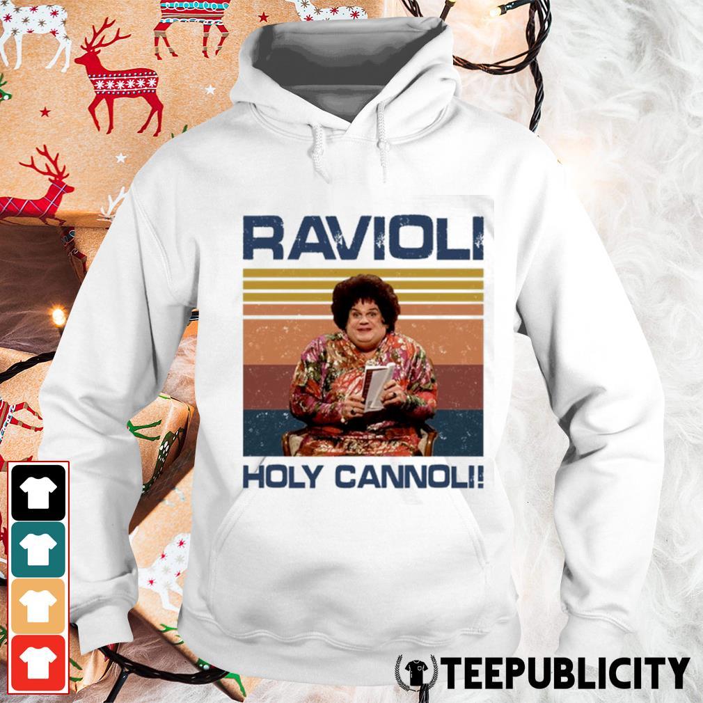 Ravioli holy cannoli vintage s hoodie