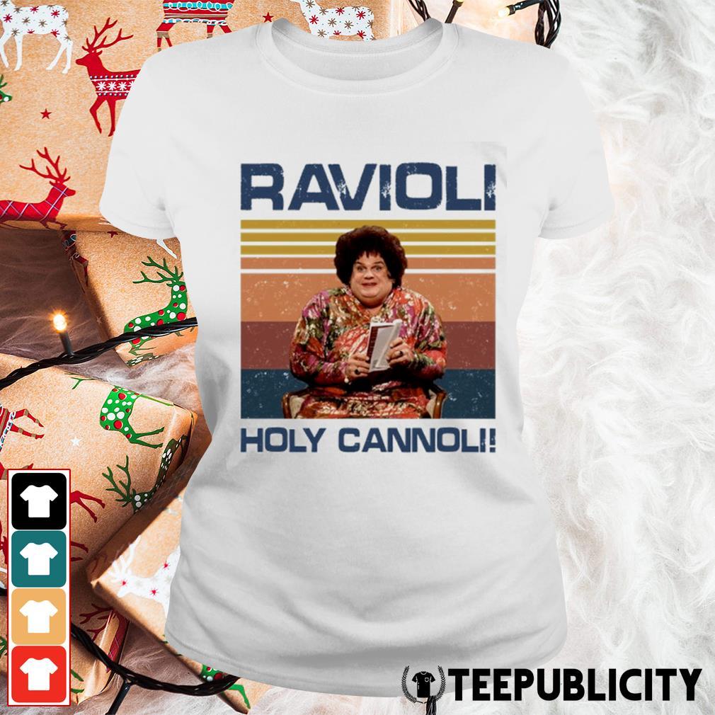 Ravioli holy cannoli vintage s ladies-tee
