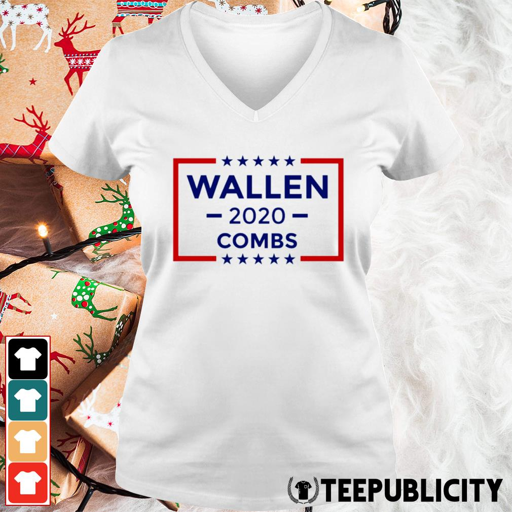 Wallen 2020 Combs s v-neck-t-shirt