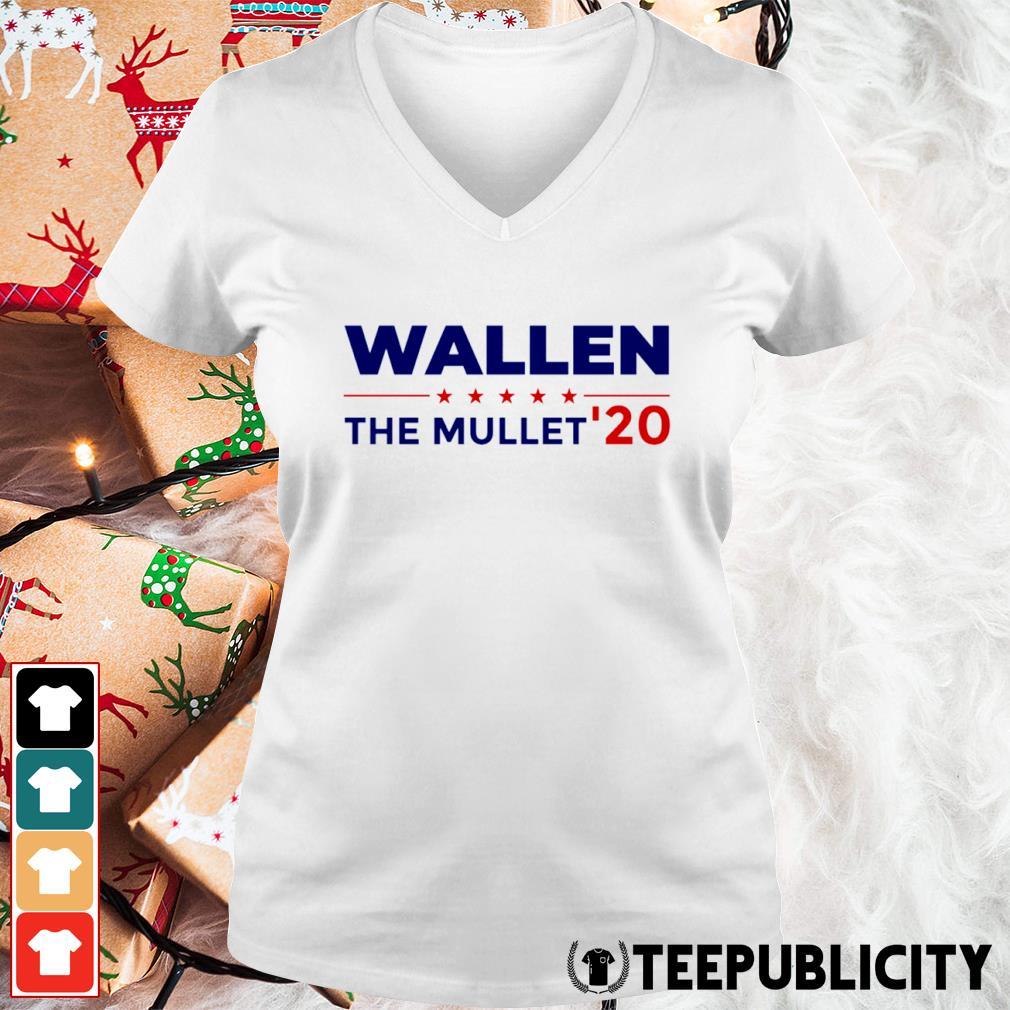 Wallen the Mullet' 2020 s v-neck-t-shirt